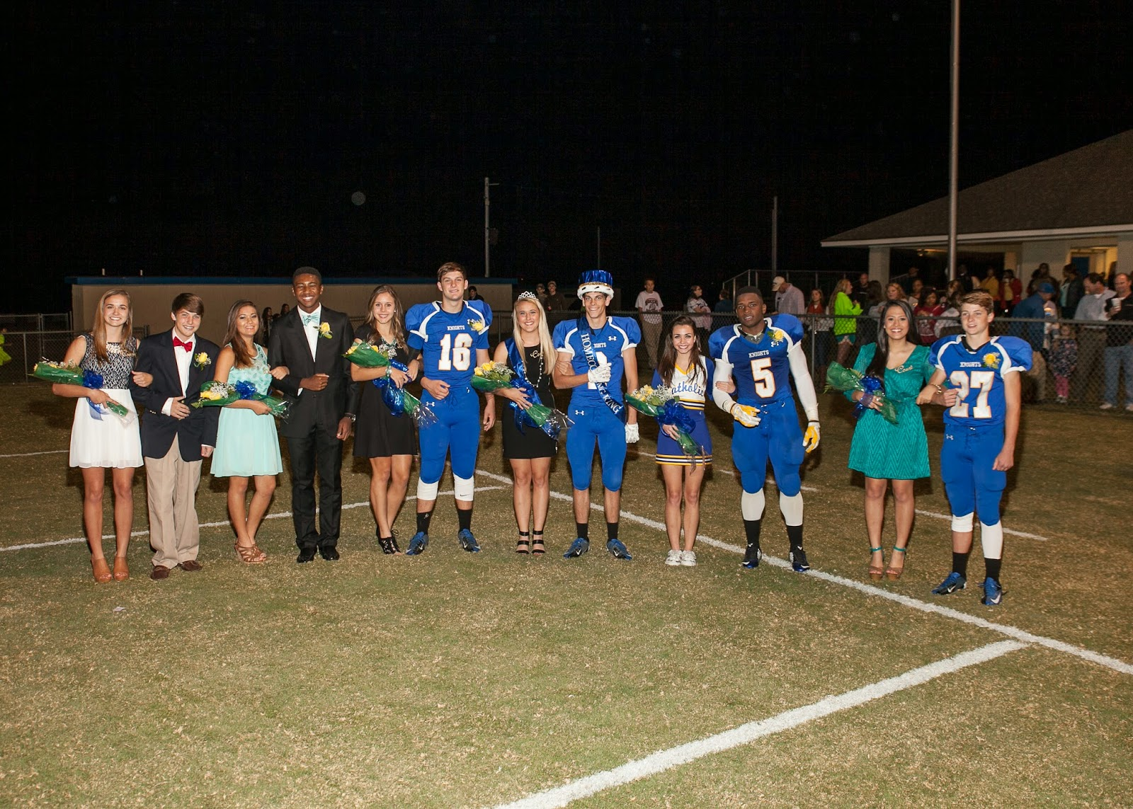 Montgomery Catholic Preparatory School Crowns 2014 Homecoming Queen & King 2