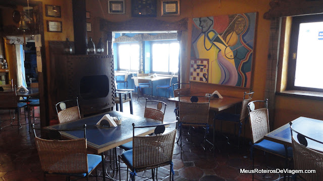 Restaurante da Casapueblo - Punta del Este, Uruguai