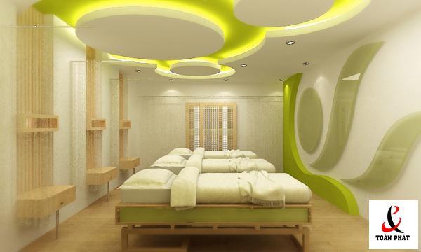 vật liệu thiết kế trần nhà 1