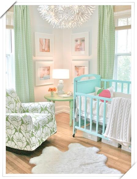 Ahora tambi n mam junio 2011 - Cortinas vintage dormitorio ...