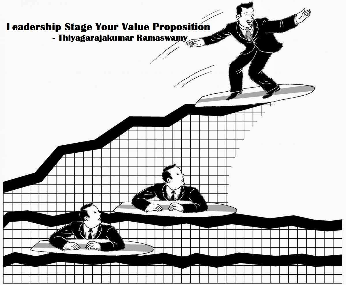 thiyagarajakumar ramaswamy u0026 39 s leadership stage india  your value proposition
