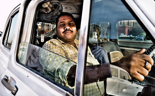 driver autista indiano