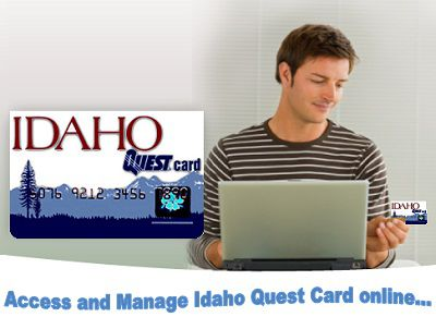 A site to access Idaho Quest Card online