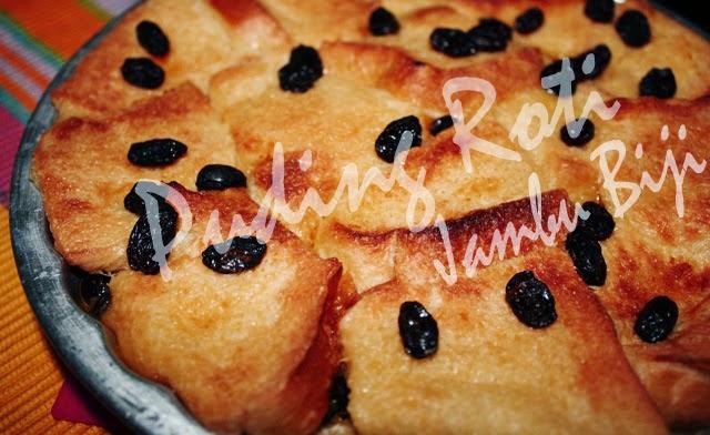 Resep Puding Roti Jambu Biji Merah | Resep Puding Praktis