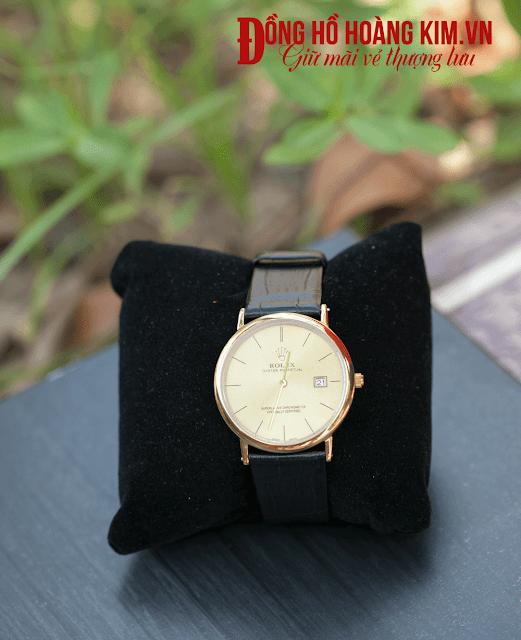Đồng hồ nữ  rolex dây da giá rẻ dưới 500 nghìn tại Cầu Giấy