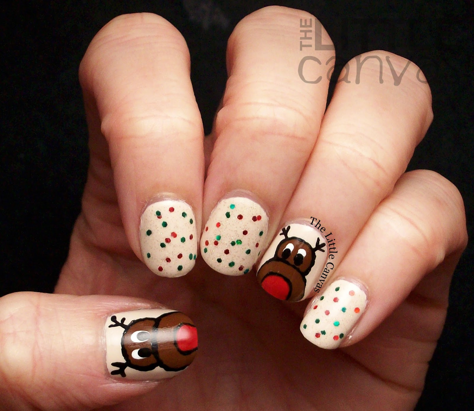 Christmas Nail Art Tutorial Gingerbread Galore: Twinsie Tuesday: Holiday Edition! Christmas And Hanukkah