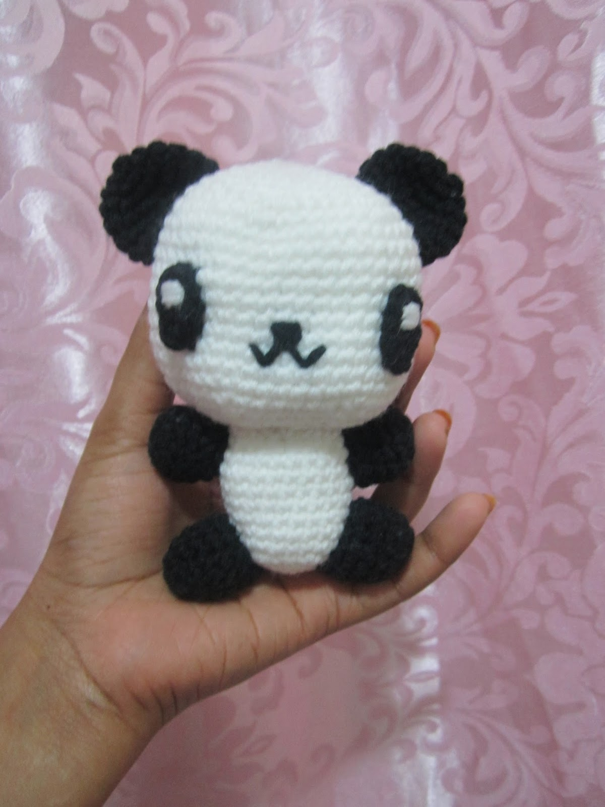 Amigurumi Panda Ohje : A little love everyday!: Amigurumi Panda