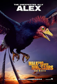 Alex in Walking with Dinosaurs official character movie poster malaysia release