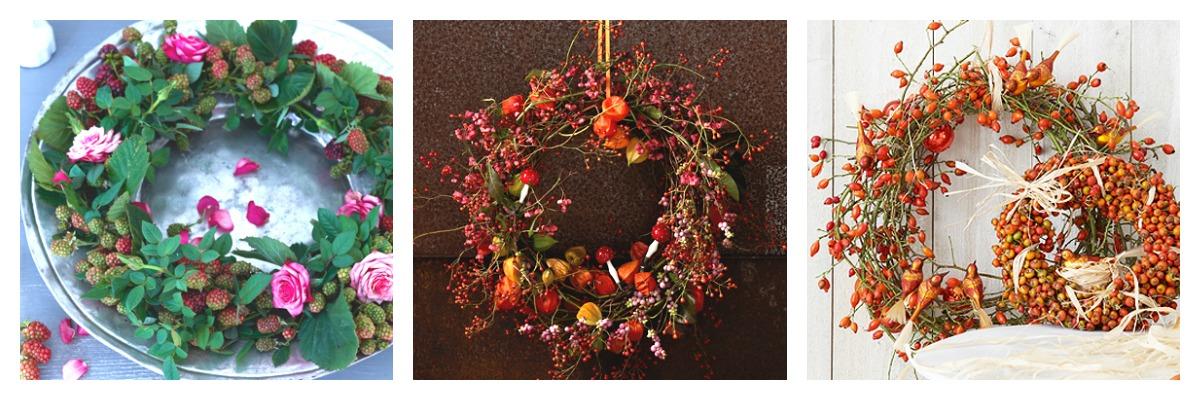 Tra orto e giardino ghirlande decorative per l 39 autunno - Ghirlande luminose per esterno ...