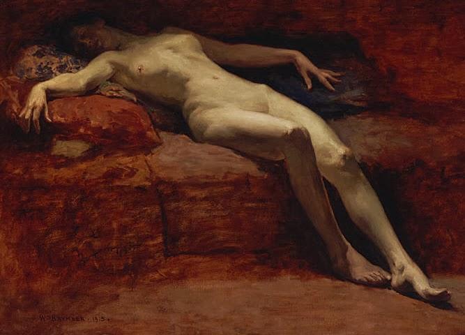 Cuerpos en el tiempo William-brymner-una-figura-desnuda-obras-maestras-de-la-pintura-juan-carlos-boveri