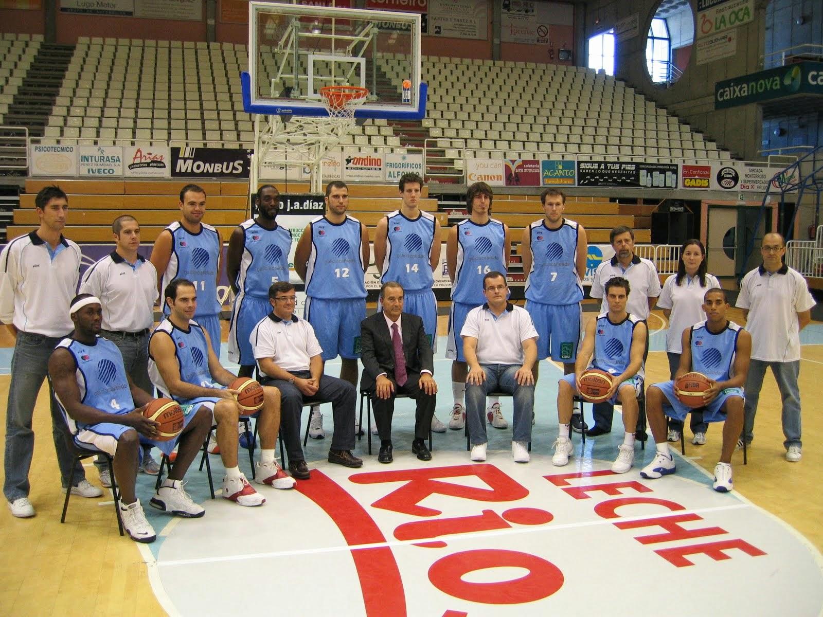 C.B. BREOGÁN LUGO 2007-2008. Liga LEB