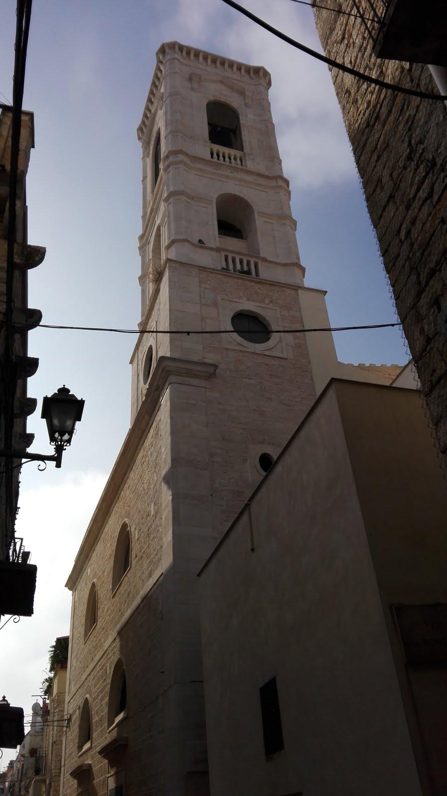 campanile della chiesa del carmine