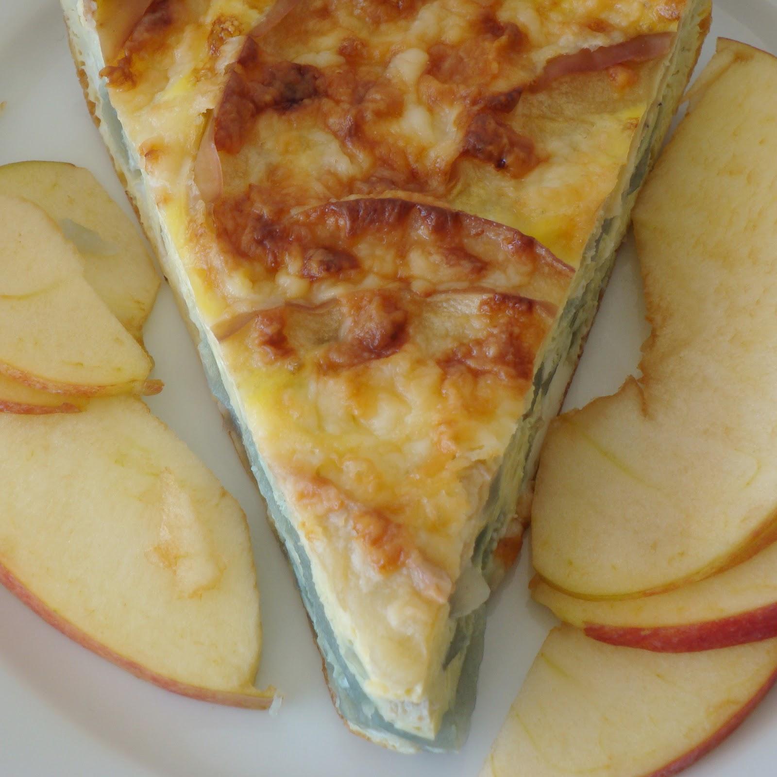 Apple Cheddar Frittata - Alida's Kitchen