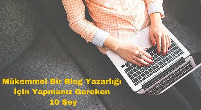 blog-yazarlığı