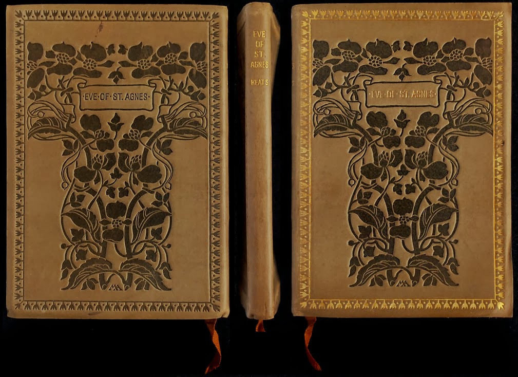 an examination of the poem the eve of st agnes by john keats John keats - poet - born in 1795 richard abbey and john rowland sandell, as the eve of st agnes, and other poems the three title poems, dealing with.