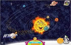 Coloca los planetas