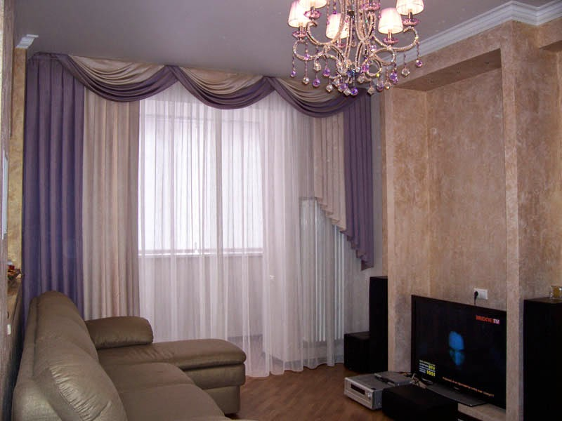 Curtains Design For Living Room
