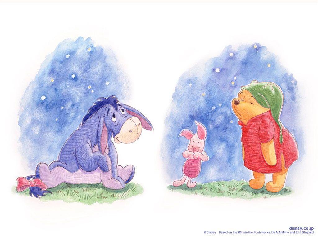 lightthem: 可愛圖案 Winnie the Pooh Wallpaper 2 小熊維尼電腦 ...