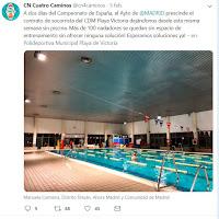 Polideportivo Municipal Playa Victoria: Twitter denuncia