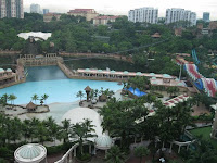 A view of the lagoon of Sunway Resort Hotel KL