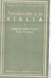 INTRODUCCIÓN A LA BIBLIA TOMO 1 - DE TUYA & SALGUERO