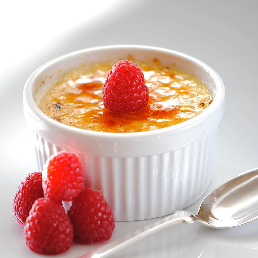 JULES FOOD...: Creme Brulee...Guilt-free version