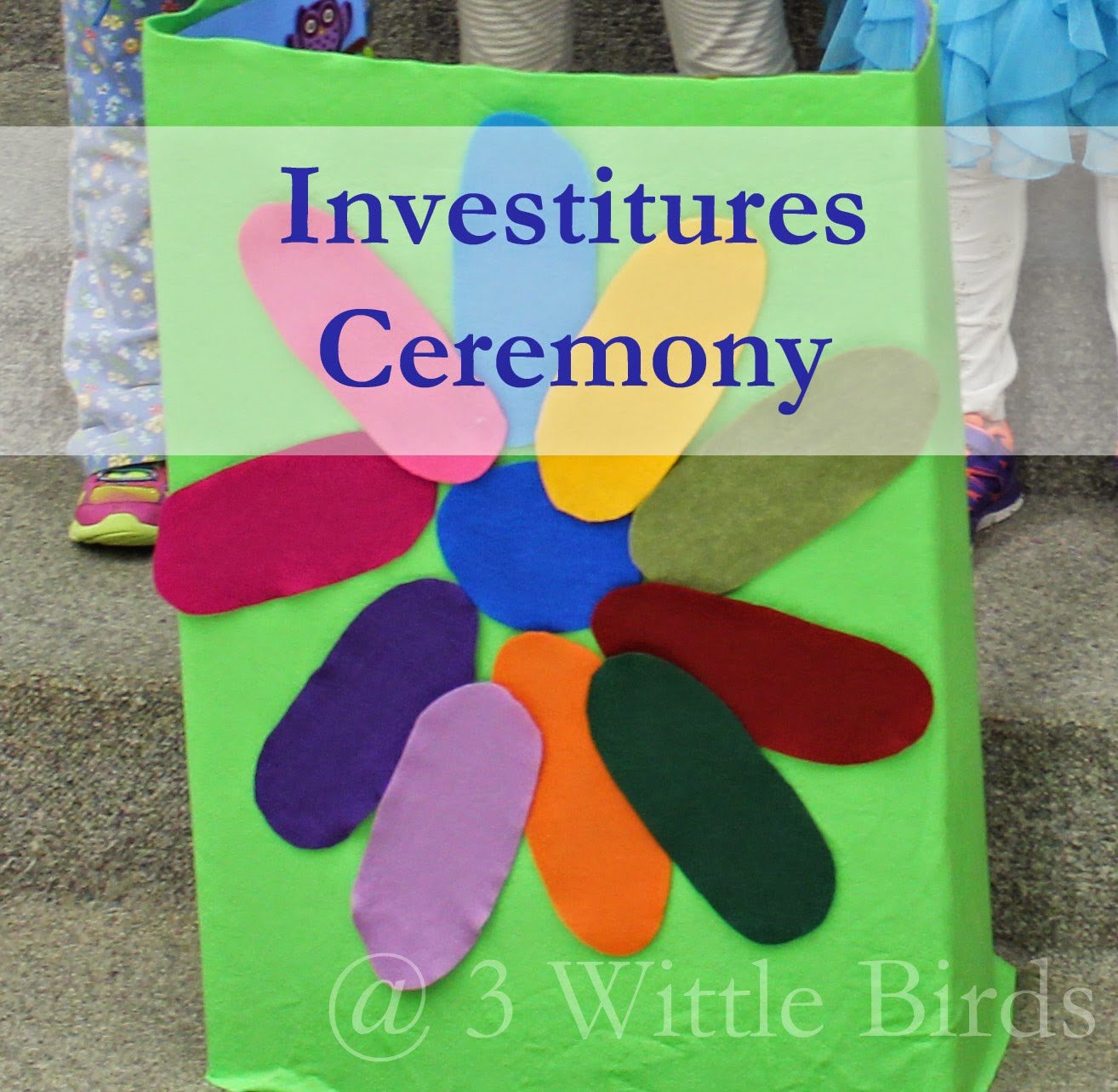 3 Wittle Birds: Investitures Ceremony - Girl Scout Daisy