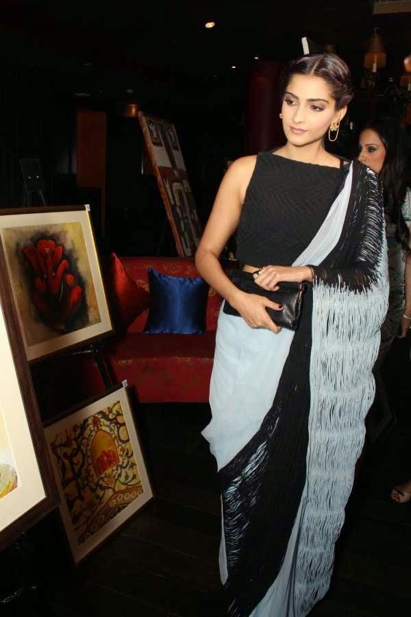 Sonam Kapoor in Rimzim Dadu saree