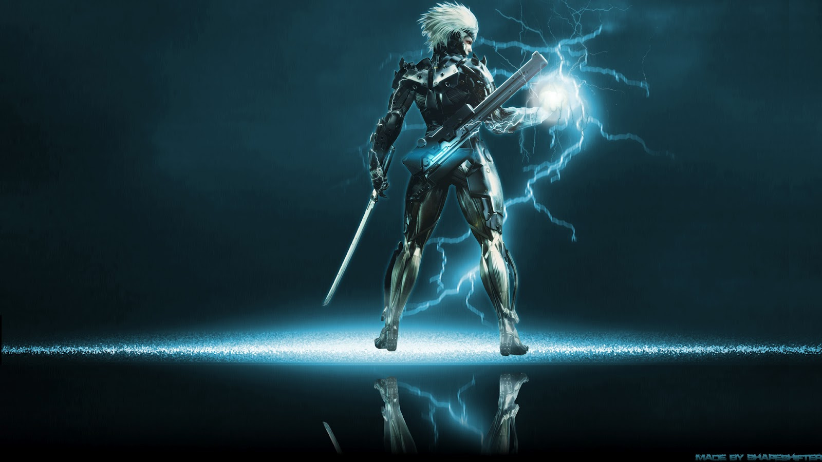 Video game gallery wallpaper avatars more metal gear solid rising raiden wallpaper background konami action third person shooter stealth img image picture pic voltagebd
