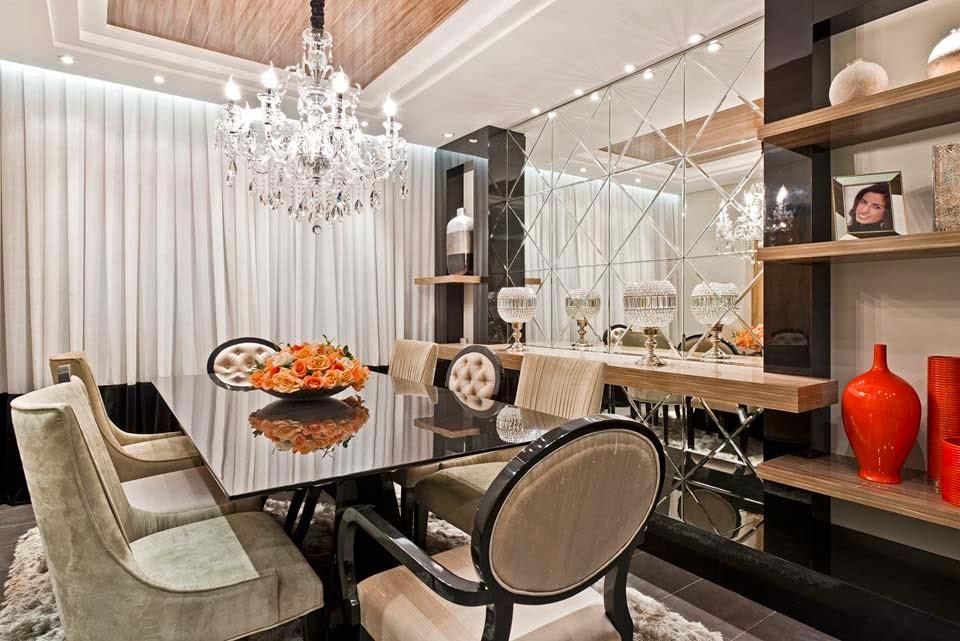 Salas de jantar com cadeiras clássicas   veja modelos lindos com ...