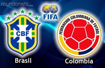 Prediksi Hasil Akhir Pertandingan Babak 16 Besar Piala Dunia 05/07/2014, Brasil vs Kolombia