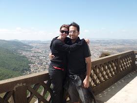 eu e o Renato...