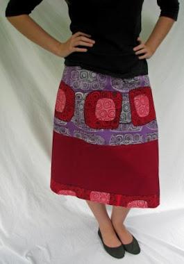 wrap skirt - hippy
