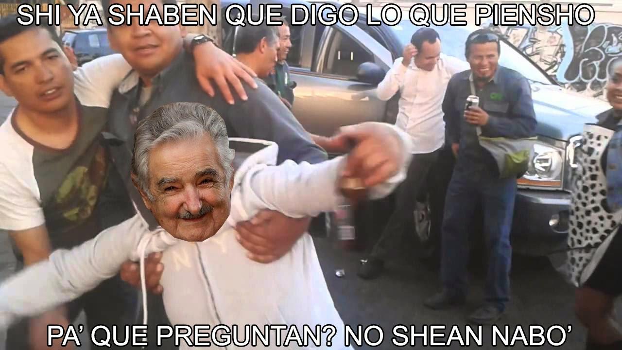 Meme de humor Pepe Mujica