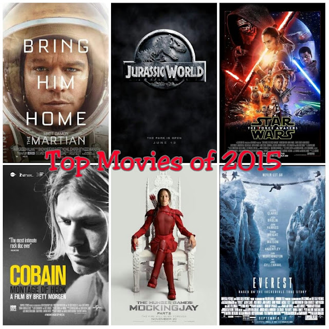 Top Movies of 2015
