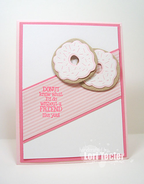 Donut Know What I'd Do card-designed by Lori Tecler/Inking Aloud-stamps and dies from Lil' Inker Designs