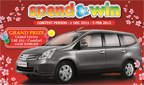 Giant-Mastercard 'Spend & Win' Contest