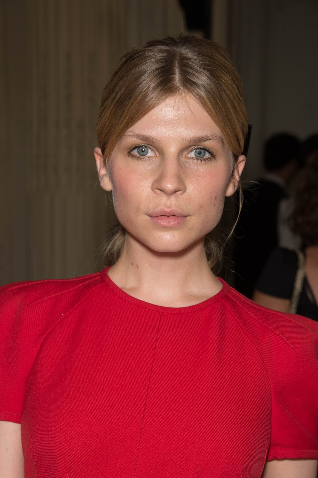 Clemence Poesy Hot and Spicy HQ Photos at Valentino Front ...