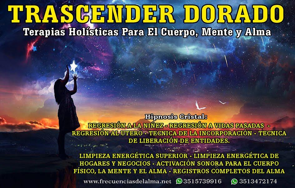 TERAPIAS DEL ALMA - TRASCENDER DORADO