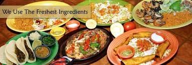 Fresh ingredients, Mexican food