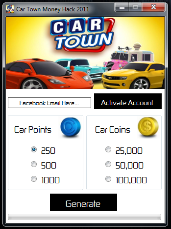 Car Town Hack Learn To Unlock All Cars, Free Facebook Credits