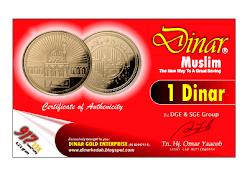 Check out harga semasa Dinar Muslim