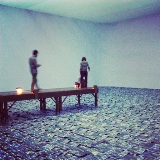 installazioni di arte contemporanea a Milano: Marulho di Meireles in Hangar Bicocca