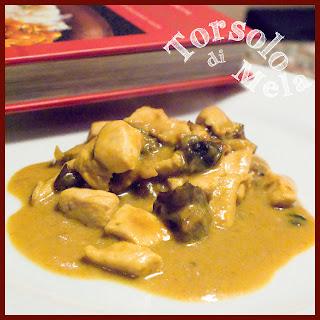 pollo thailandese al latte di cocco