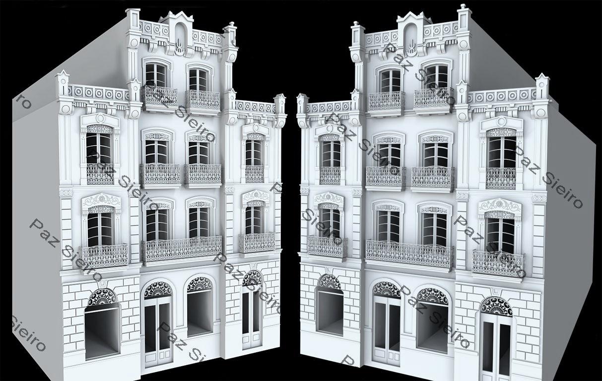 Works 3d edificio villanueva 1881 r a progreso ourense - Arquitectos ourense ...