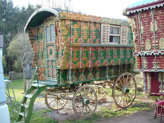 Emma Hill More Vintage Gypsy Caravans