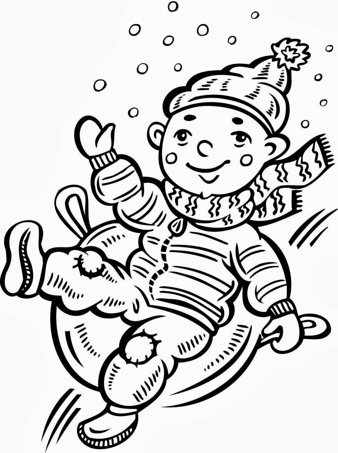 Speechie freebies snow day language fun freebie for Snow day coloring pages