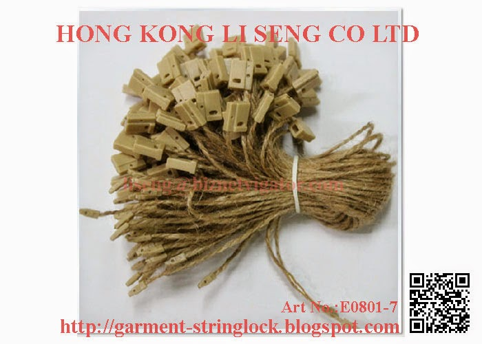 Hemp Rope String Lock Pin Manufacturer - Hong Kong Li Seng Co Ltd