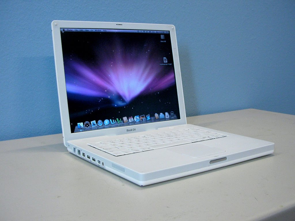 mp geeks mac ibook g4 laptops only 299 this week only. Black Bedroom Furniture Sets. Home Design Ideas