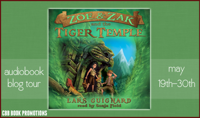 Zoe and Zak and the Tiger Temple Tour